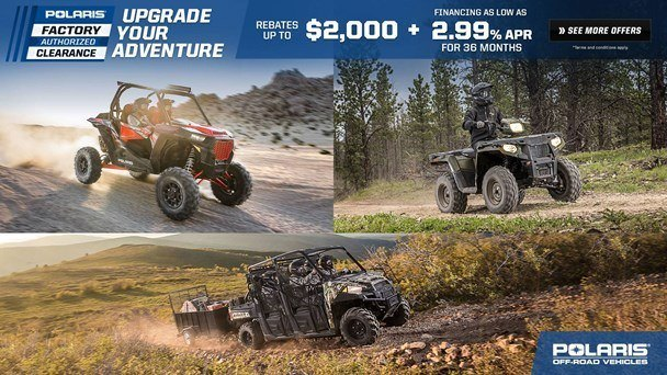 Polaris - Factory Authorized Clearance - ORV Offers