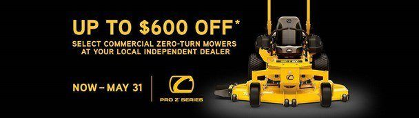 Cub Cadet - Save on Select Pro Z 100 Mowers